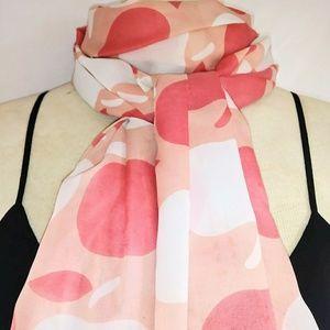 XL APPLE Peach Wrap Scarf #hundredsofscarves